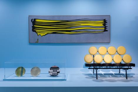 'Yellow Brushstroke II) by Roy Lichtenstein. © Gar Powell-Evans 2013 Courtesy Barbican Art Gallery