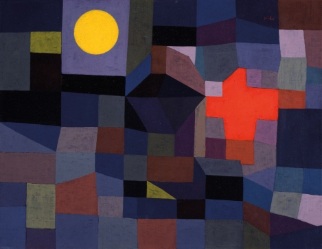 Paul Klee, Fire at Full Moon 1933, Museum Folkwang, Essen, Germany
