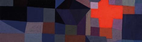 Paul Klee, Fire at Full Moon 1933, Museum Folkwang, Essen, Germany