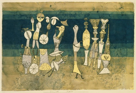 Paul Klee, Comedy 1921, Tate