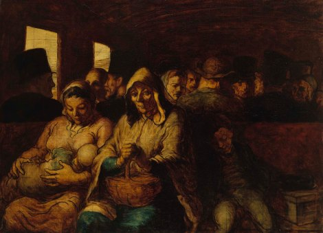 Daumier, The Third Class Railway Carriage 1862-64, © The Metropolitan Museum of Art/Art Resource/Scala, Florence