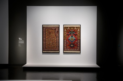 Faig Ahmed, Installation shot, © Victoria and Albert Museum, London