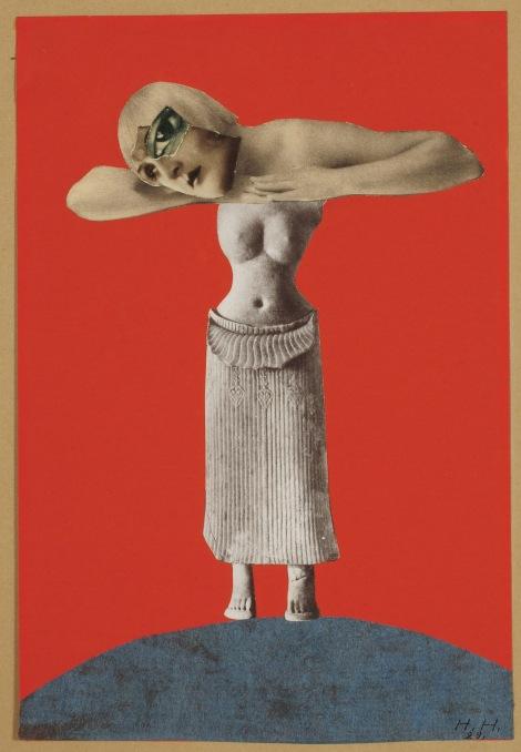 Hannah Höch, Ohne Titel (Aus einem ethnographischen Museum), (Untitled [From an Ethnographic Museum]), 1930, Museum für Kunst und Gewerbe, Hamburg, Photo: courtesy of Maria Thrun