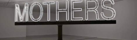 Martin Creed, Work No. 1092 MOTHERS, 2011. © the artist. Image courtesy the artist and Hauser & Wirth