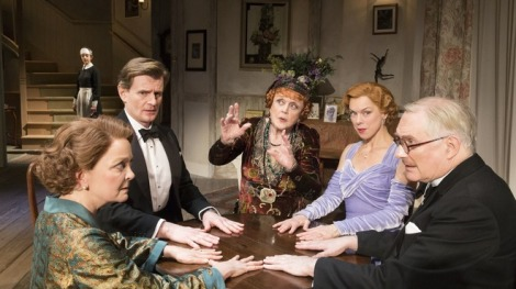 Blithe Spirit at the Gielgud Theatre, image © Johan Persson