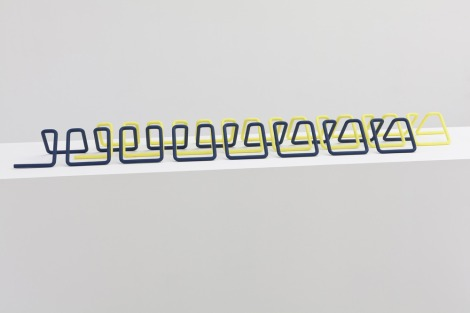 'Knit Stitch', 2014, Tauba Auerbach